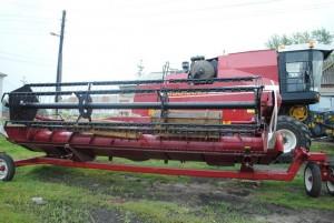 зерноуборочный комбайн полесье 812 рабочий орган