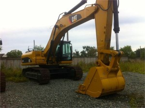 caterpillar 336 dl с ковшом