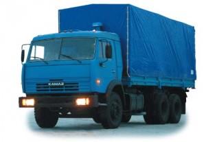 грузовик камаз 53215 с тентом