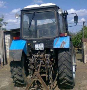колесный трактор мтз 1021 прицепной механизм