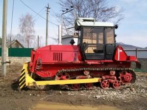 трактор вт-100 с передним отвалом