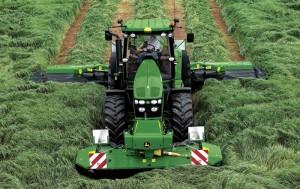 трактор john deere 7830 с навесным оборудованием