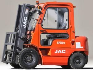Вилочный погрузчик JAC CPCD 35 с автоматической коробкой передач