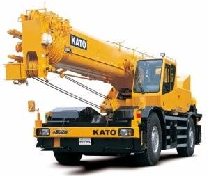 Самоходные краны Kato — основные сферы использования