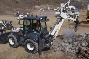 terex 970 использование гидромолота
