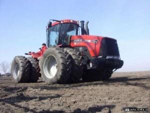 колесный трактор case 435
