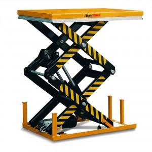 гидравлический подъемный стол с двойными ножницами